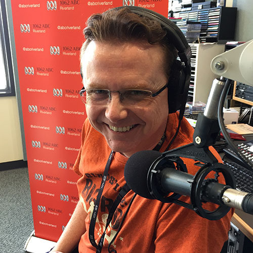USQ TV and Radio Sessional Lecturer Spenser Howson