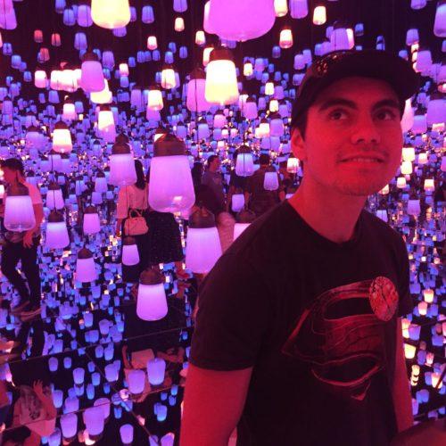 USQ Film Student – Digital Art Museum Tokyo Japan
