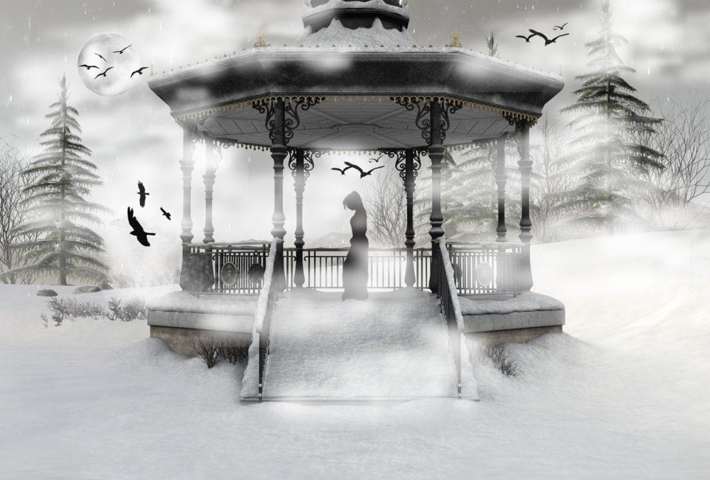 USQ Student Digital Art – Haunted Winter