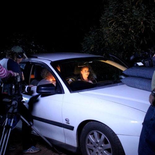 USQ FIlm Students – On Set Filming Unquiet
