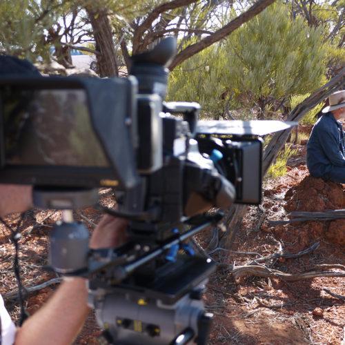 USQ Film Students shooting feature length film 'Panic'