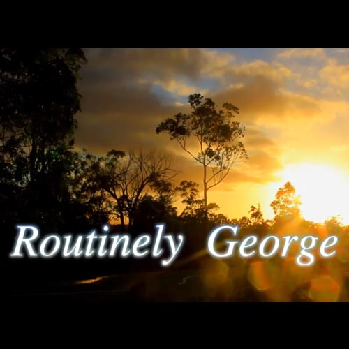 Routinely George