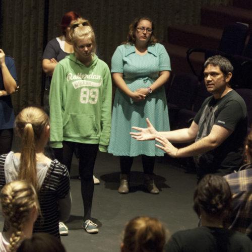 USQ Theatre Student Performance – Enoch