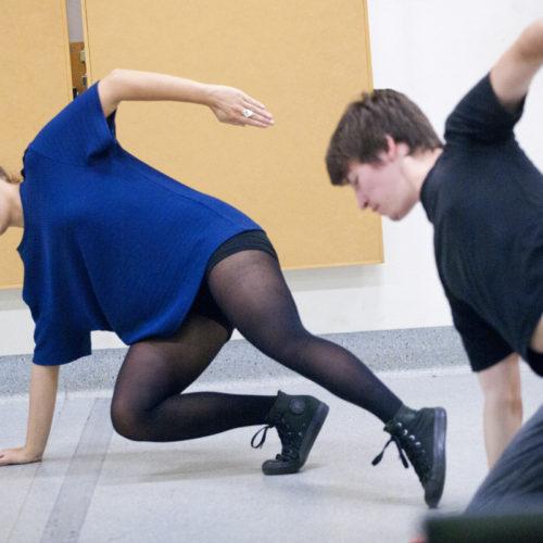 USQ Theatre Student Experience – Rehearsal