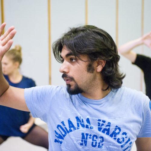 USQ Theatre Students – Rehearsal