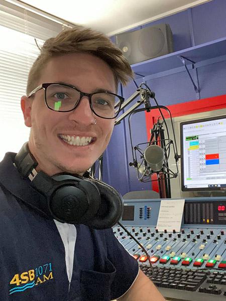 USQ TV & Radio Alumnus - Zac Logan